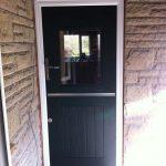 Green Rock stable PVCu door