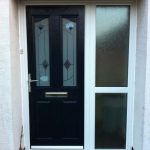 PVCU Blue composite door
