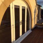 pvc arched doorway