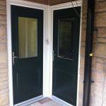 Corner Composite Doors
