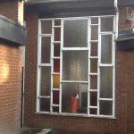 aluminium double glazing church window 3 before