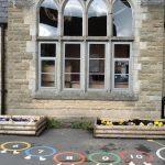 aluminium double glazing school window 1