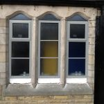 aluminium double glazing school window 2