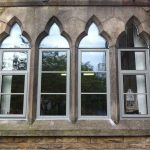 aluminium double glazing school window 4
