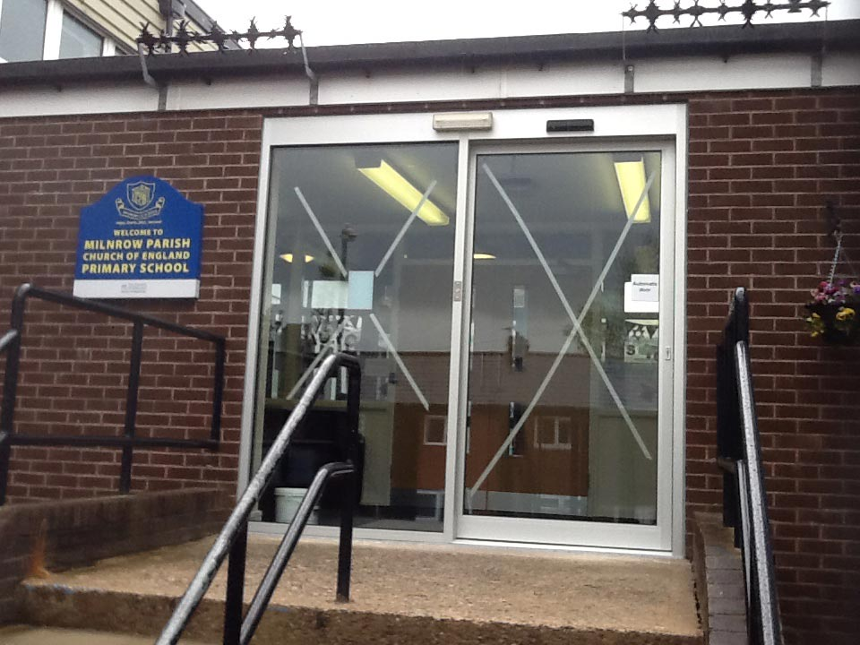 Automatic sliding doors manchester north west uk d m for Automatic sliding door